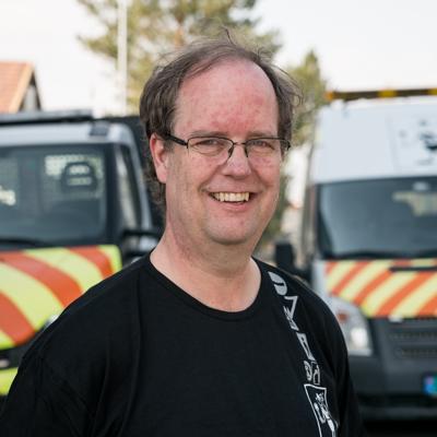 Portrett av Viggo Røstvik - Konsulent for arbeidsvarsling hos Trafikkvakta